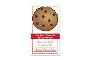 The Cookie Den Business Card