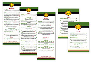 Hamir's Indian Fusion Menus