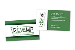 Revamp Rental Properties LLC Business Card